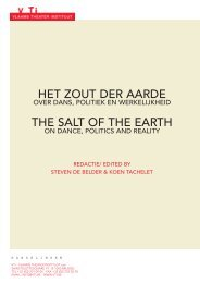 het zout der aarde the salt of the earth - depot voor het VTi