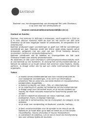 vacature COMMUNICATIEVERANTWOORDELIJKE NL juni 2013 - VTi