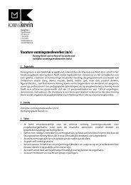 Vacature vormingsmedewerker (m/v) - VTi
