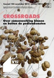 Courant 103 - Crossroads. Over samenwerking binnen en ... - VTi