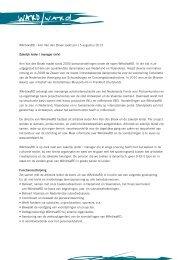 WArd/waRD - Ann Van den Broek zoekt per 15 augustus 2013 ... - VTi
