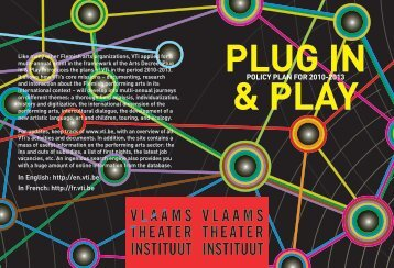 Plug in & play. Policy plan for 2010-2013 - VTi