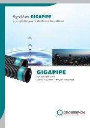 GIGAPIPE - Böhm–extruplast sro