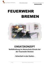 Konzept Notfallrettung Stand 17.11.10 Final - Feuerwehr Bremen