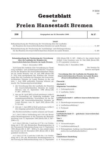 AAA Muster4 GBl. - Feuerwehr Bremen
