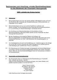 Bedingungen zum Anschluss privater Brandmeldeanlagen an das ...