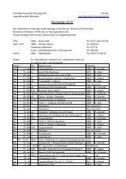Dienstplan 2010 - Freiwillige Feuerwehr Herzogenrath