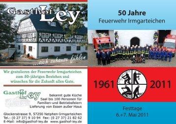 Download Festschrift 50 Jahre LG Irmgarteichen - Löschgruppe ...