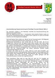 Bericht - Feuerwehr Marwitz