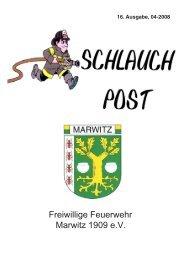 16. Ausgabe - Feuerwehr Marwitz