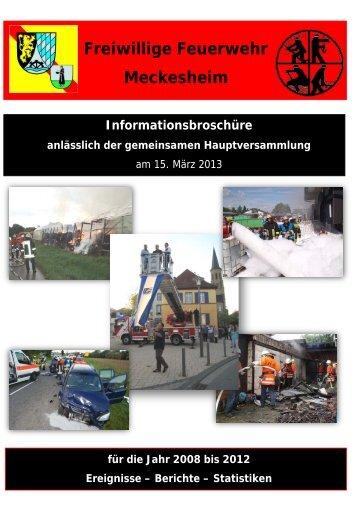 Informations - Feuerwehr Meckesheim