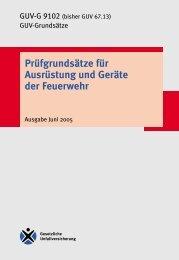 GUV-G 9102 - Deutsches Rotes Kreuz - Clausthal - Zellerfeld
