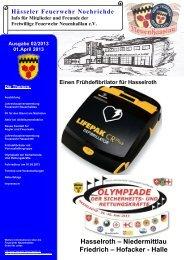 Hasselroth - Freiwillige Feuerwehr Neuenhaßlau e.V.