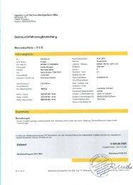 Gebrauchtfahrzeugbewertung - Feuerwehr Potsdam