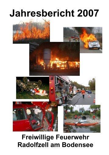 Jahresbericht 2007 - Freiwillige Feuerwehr Radolfzell