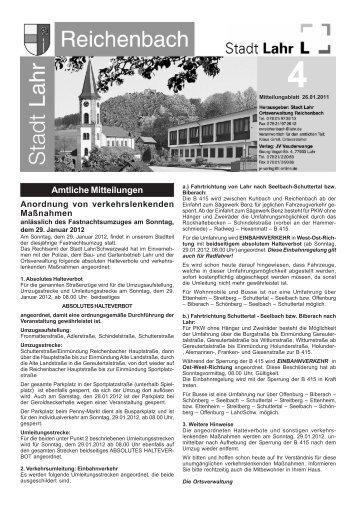 Reichenbach im Februar 2012 - Stadt Lahr