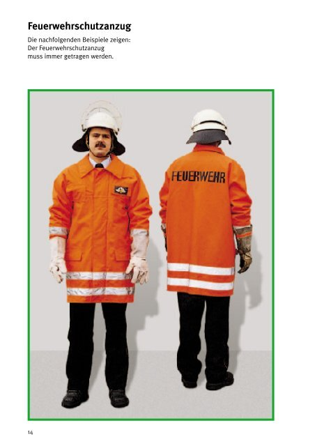 GUV 50.0.10 - Sicherer Feuerwehrdienst - Freiwillige Feuerwehr ...
