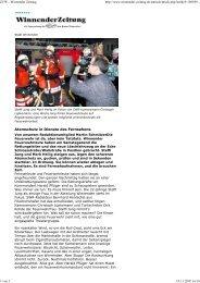 Atemschutz in Dienste des Fernsehens - Freiwillige Feuerwehr ...