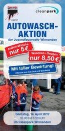 AUTOWASCH- AKTION - Freiwillige Feuerwehr Winnenden