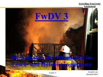 FwDV 3 - Feuerwehren der Gemeinde Eichenzell