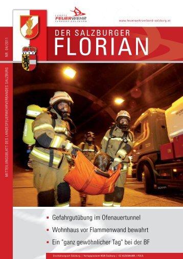 Florian 04/2011 - Landesfeuerwehrverband Salzburg