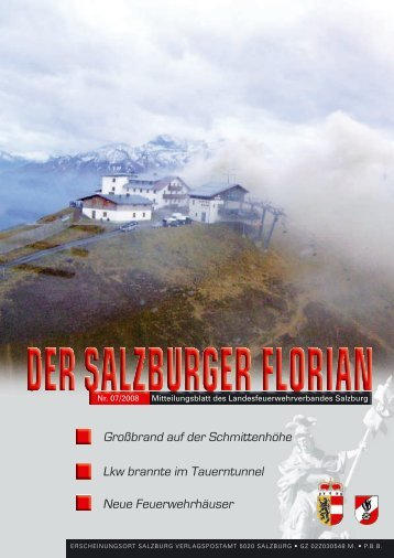 Florian 07/2008 - Landesfeuerwehrverband Salzburg