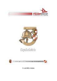 Landesfeuerwehrjugendleistungsbewerb 2006