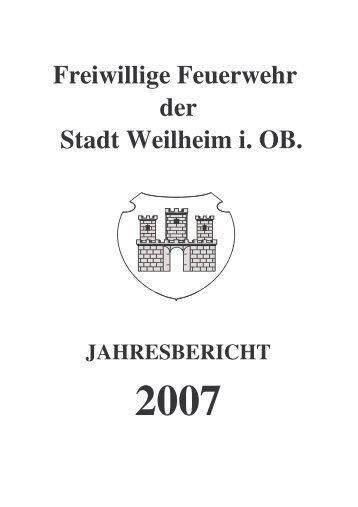 2007 - Freiwillige Feuerwehr Weilheim