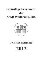 2012 - Freiwillige Feuerwehr Weilheim