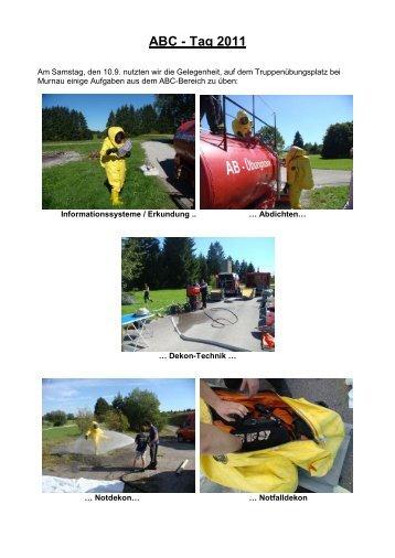 ABC - Tag 2011 - Feuerwehr Weilheim