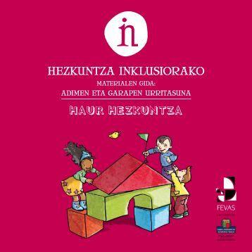 HAUR HEZKUNTZA - Creena - Navarra