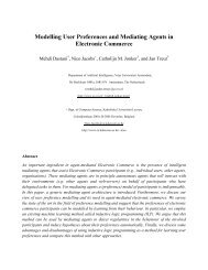 Modelling User Preferences and Mediating Agents in Electronic ...