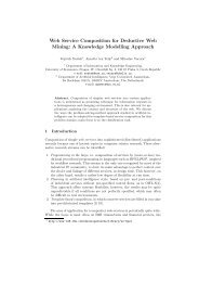 Web Service Composition for Deductive Web Mining: A ... - CiteSeerX