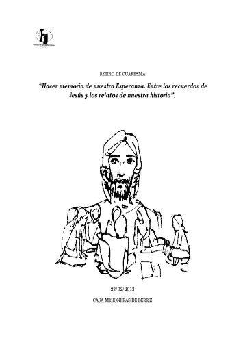 material retiro de cuaresma 2013.pdf - Fe y Justicia