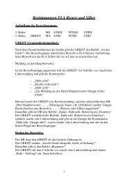 Bestimmungen FLA Bronze und Silber - FF Buchschachen