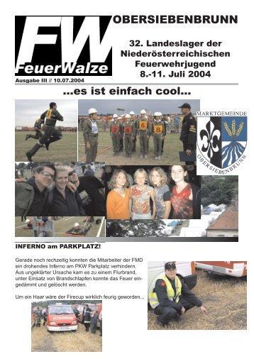 OBERSIEBENBRUNN - FF Herzogenburg-Stadt