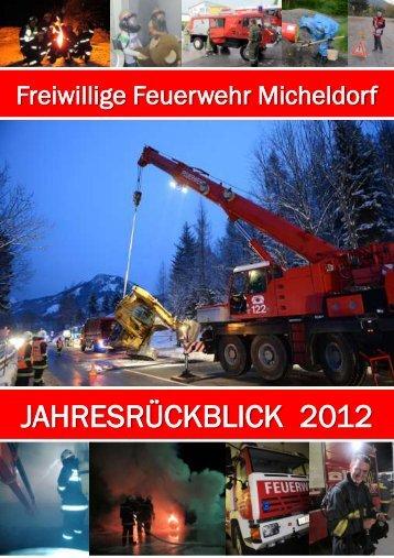Jahresbericht 2012 - Freiwillige Feuerwehr Micheldorf in OÖ