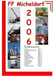 Jahresbericht 2006 - Freiwillige Feuerwehr Micheldorf in OÖ
