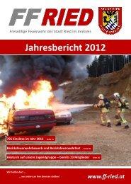 Jahresbericht 2012 - FF Ried