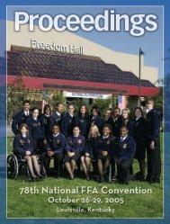 78th National FFA Convention - National FFA Organization