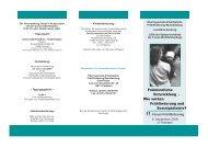 Frühkindliche Entwicklung - Wie wirken Frühförderung und ...