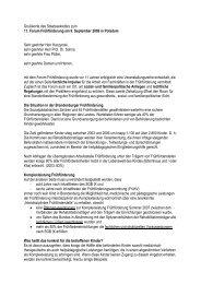 Grußworte des Staatssekretärs zum 11. Forum Frühförderung am 9 ...