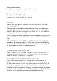 12. Forum Frühförderung WS 5 Thema: Zusammenarbeit mit Eltern ...