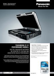 Toughbook CF-31 Performance Modell - FFcompany
