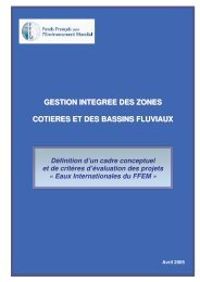 version definitive-gestion integree du littoral et des bas - FFEM