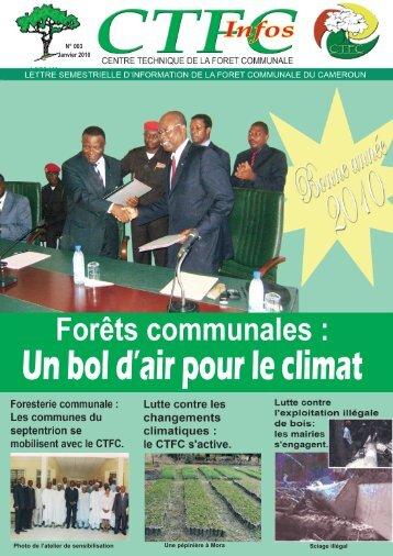 N° 003 Janvier 2010 ACFCAM - FFEM