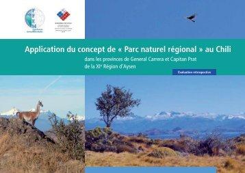 Application du concept de « Parc naturel régional » au Chili - FFEM