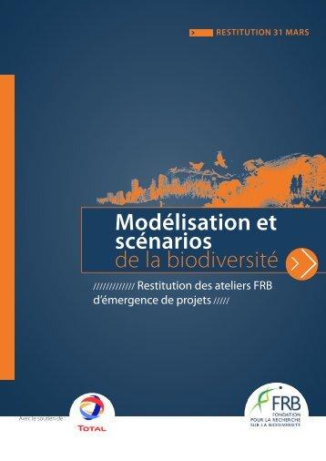 Modélisation et scénarios de la biodiversité - FFEM