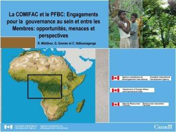 La COMIFAC et le PFBC: Engagements pour la ... - FFEM