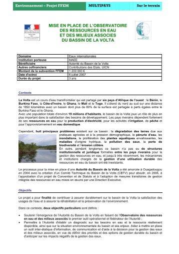 Télécharger la fiche de communication en format PDF - FFEM